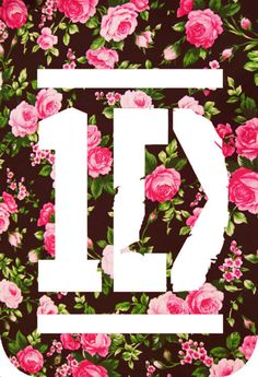 1D One Direction  Floral Logo Shirt   Great Gift by LuxeBrands, $15.99