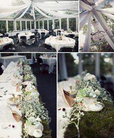 Love this head table  midsummer night wedding ekbloma3