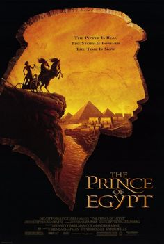 The Prince of Egypt Movie Poster... EDFD Second Movie My Son saw in the theater...