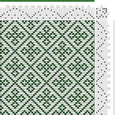 Hand Weaving Draft: Page 134, Figure 42, Donat, Franz Large Book ...