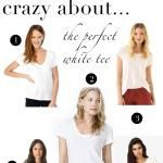 crazy about...the perfect white tee