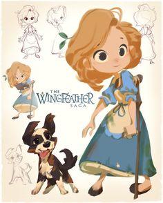 Wingfeather Saga - Leeli by nicholaskole.deviantart.com on @DeviantArt