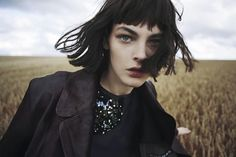 Model Vittoria Ceretti provokes a somber, rich moodiness in Fanny  Latour-Lambert's ruins-inspired fashion editorial 'Post Rave'. Mariaelena  Morelli styles Vittoria for Grey Magazine's Fall 2014 issue. / Beauty by  Laure Dansou