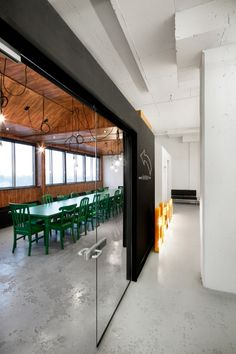 Inside BICOMs Village inspired Office Design