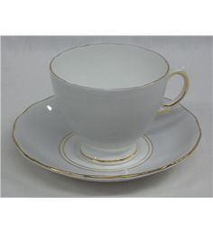 Elegant bone china | Elegant vintage Royal Vale pale dove grey fine bone china teacup and ...