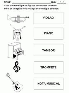 música para crianças atividades - Pesquisa Google