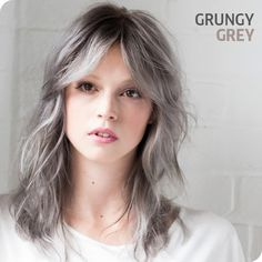 Find out how to get the Grungy Grey look here: http://www.salonsdirect.com/blog/create-the-look-grungy-grey/