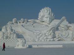 Snow Sculpture Festival - Harbin, China