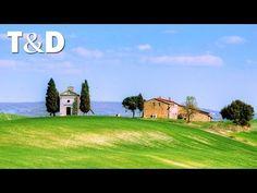 Val d'Orcia, Tuscany - Italy - YouTube