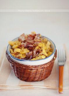 Nella cucina di Ely:  Straccetti di #pollo con #zafferano e #speck Gnam gnam gnam