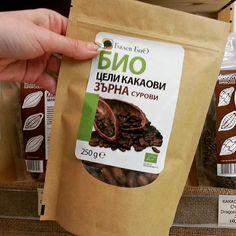 Сурови какаови зърна - дар от боговете Какви са ползите на какаото виж от тук: http://spirala.bg/shop/superfoods/kakaovi-zarna-celi