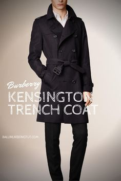 The Kensington - Heritage Trench Coat by Burberry