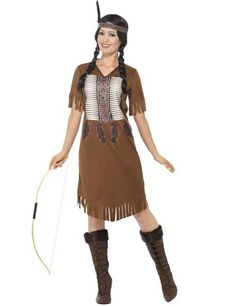 88e8ca90dde05 Déguisement indienne à franges femme   Ce déguisement d indienne est pour  femme et comprend. deguisetoi.fr
