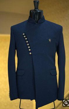 Buy Blue Italian Woven Jodhpuri Suit Online is part of Wedding dress men - Wedding Dresses Men Indian, Wedding Dress Men, Wedding Jacket, Wedding Suits, Mens Wedding Wear Indian, Mens Indian Wear, Wedding Groom, Blue Wedding, Mens Fashion Blazer