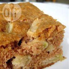 Gâteau aux pommes avec glaçage au caramel @ qc.allrecipes.ca