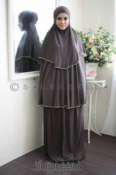 Telekung Nourah Cappuchino CODE: TNC02 RM159(exclude postage) Status: Available