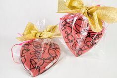 Fabulous Pink Hearts filled with Dark Chocolate say more than you may imagine on Mothers Day!