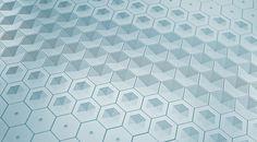 Concrete Tiles - Gradient on Behance