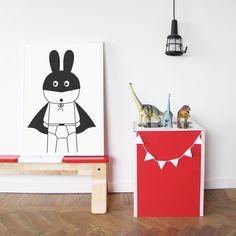 SuperHeroes' Bedrooms Inspiration- Petit & Small