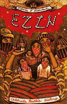 EZLN, pintura, arte zapatista Chicano, Mayan Tattoos, History Posters, Anarchism, Political Art, Power To The People, Feminist Art, Arte Popular, Lovers Art