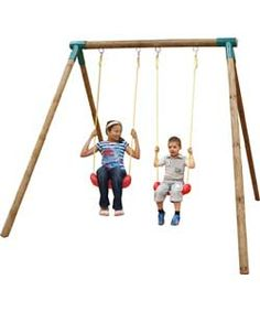 Little Tikes Roma Double Swing Set.