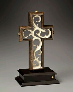 Wedding Ceremony Unity Cross. Love this idea instead of the usual sand ceremony.