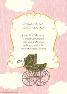 Baby Shower Invite :)