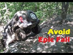 How to avoid 4x4 Off Road EPIC FAIL when it is too Dangerous to try, Hum...