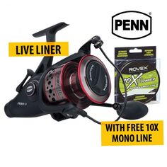 Penn Fierce Live liner #fishing #reels With FREE Rovex 10X Mono for the lowest price in Australia provided by Dinga Fishing Tackle Store!