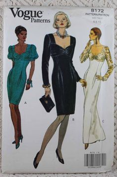 BUTTERICK SEWING PATTERN 6287 MISSES SZ 8-18 PULLOVER TUNIC W// SHAPED HEMLINE