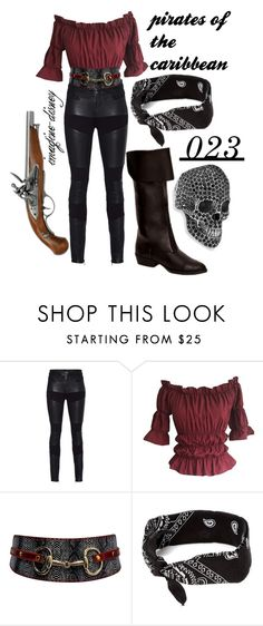 """""""Pirates of the caribbean"""" by imagine-disney ❤ liked on Polyvore featuring TIGHA and Platadepalo"""