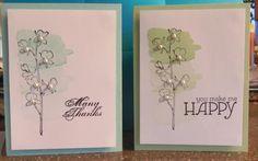 Happy Watercolor CAS by lemonie - Cards and Paper Crafts at Splitcoaststampers