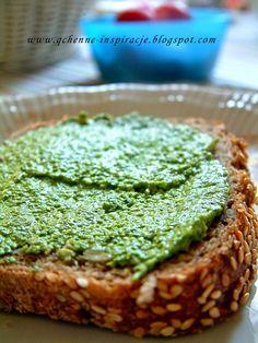 Qchenne-Inspiracje! Odchudzanie, dietoterapia, leczenie dietą: Pesto - genialny zastępca masła i kiedy powinno się zjeść śniadanie