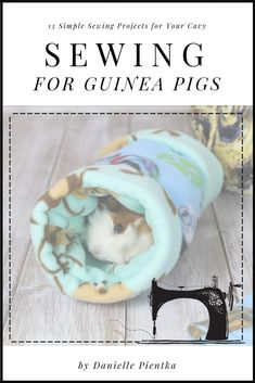 Get the Guinea Pig Sewing book for many detailed instructions on how to make your own guinea pig equ Easy Sewing Projects, Sewing Projects For Beginners, Sewing Hacks, Sewing Tutorials, Sewing Tips, Fun Projects, Sewing Crafts, Sewing Patterns Free, Free Sewing