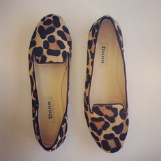 Leopard Print Flats...a girls essential to wear with shorts, skirts, jeans..Officially Closet