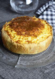 Quiche lorraine épaisse - recette de boulangerie