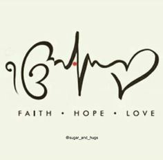 Tattoo- Faith Hope Love