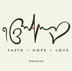 Tattoo- Faith Hope Love