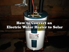 A water heater can consume a lot of electricity and is one of the appliances in your house that costs you the most money. I personally have a tankless water heater which only heats up the water when I need it. I have saved about 33% on my water heating by switching.