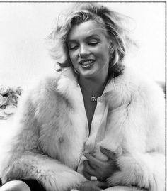 Marilyn Monroe (MM) Dunway Enterprises - http://dunway.com/ Not sure if it's her