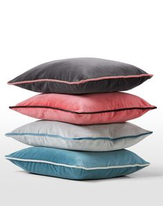 Mya Velvet Cushions. £35 each. MADE.COM