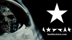 """David Bowie is releasing a new album called ★ (pronounced """"Blackstar""""). Watch the trailer now."""