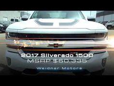 2017 Chevrolet Silverado 1500 FOR SALE / White, 4X4, 2LT / 17n159