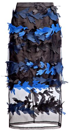 Atelier Kikala - Black Water Plant Skirt