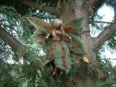 Needle felted Fairy Forest Waldorf inspired by RaduraIncantata, €38.00