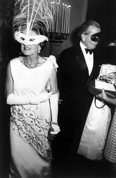 Rose Fitzgerald Kennedy at Capote's Black and White Ball, 1966