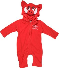 Arkansas Razorbacks Toddler Fleece Costume