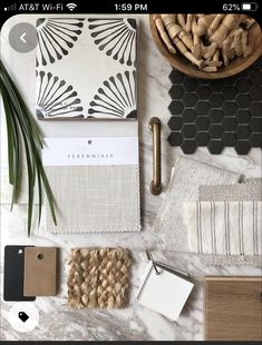 Moodboard Interior, Material Board, Interior Design Boards, Style Deco, Colour Schemes, Color Trends, Design Trends, House Colors, Home Remodeling