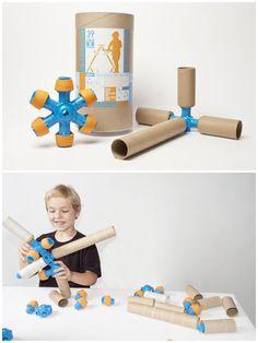 Cardboard Tube Construction Kits  Toobalink