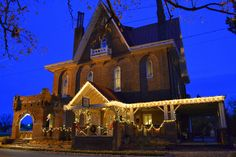 Korners Folly at Christmas - Kernersville, NC